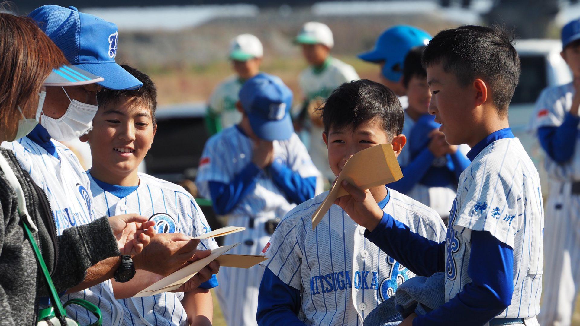 茅ヶ崎少年野球 三ヶ丘スポーツ少年団野球部 ブルースターズ